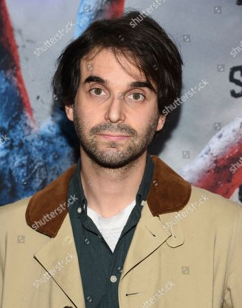 """Alex Ross Perry attends the premiere of """"The Dead Don't Die"""" at the Museum of Modern Art, in New York"""