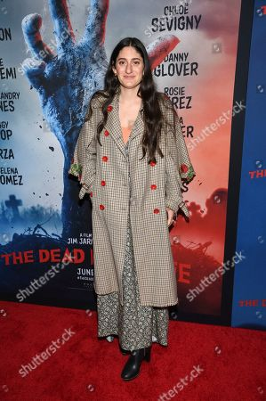 """Arden Wohl attends the premiere of """"The Dead Don't Die"""" at the Museum of Modern Art, in New York"""
