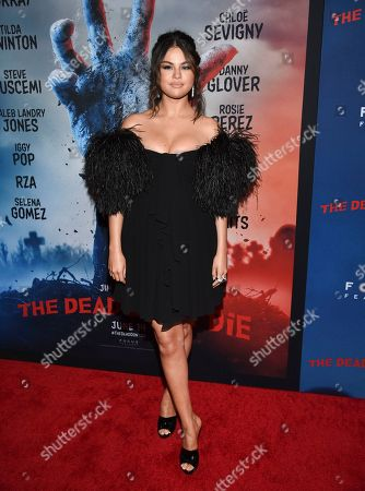 """Selena Gomez attends the premiere of """"The Dead Don't Die"""" at the Museum of Modern Art, in New York"""