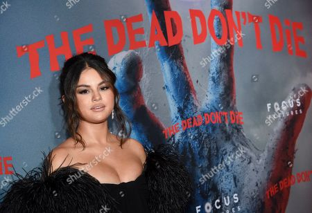"""Selena Gomez attends the premiere of """"The Dead Don't Die,"""" at the Museum of Modern Art, in New York"""