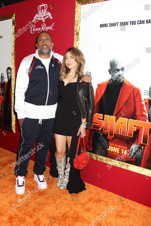 Kenya Barris with Guest