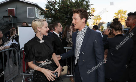 Jena Malone and Miles Teller