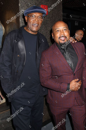 Samuel L. Jackson and Daymond John