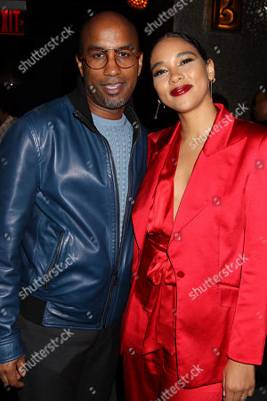 """Editorial image of The Premiere of New Line Cinemas """"Shaft"""" After party, New York, USA - 10 Jun 2019"""