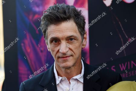 "John Hawkes, a cast member in the Amazon Prime series ""Too Old to Die Young,"" poses at a special screening of the show at the Vista Theatre, in Los Angeles"
