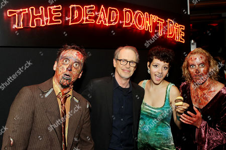 Steve Buscemi, Maya Delmont with Zombies