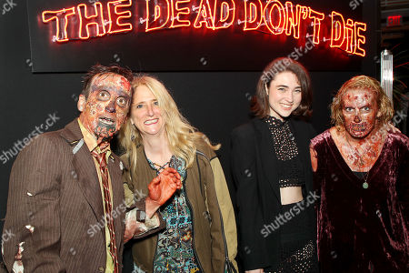 Nanette Lepore and daughter Violet with Zombies