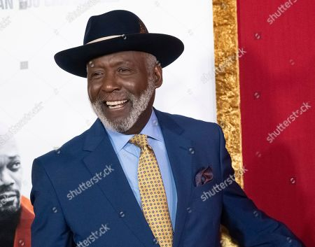 "Richard Roundtree attends the premiere of ""Shaft"" at AMC Lincoln Square, in New York"