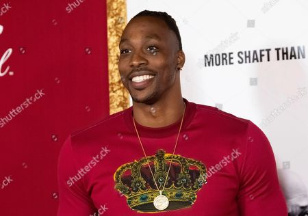 "Dwight Howard attends the premiere of ""Shaft"" at AMC Lincoln Square, in New York"