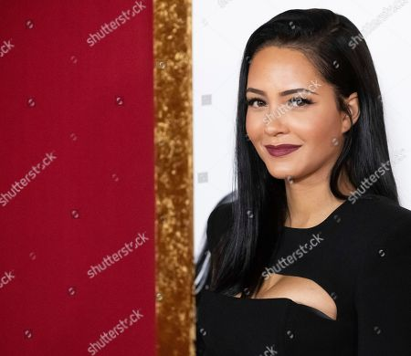 """Tristin Mays attends the premiere of """"Shaft"""" at AMC Lincoln Square, in New York"""