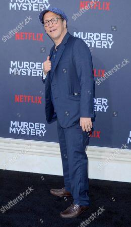 Editorial picture of 'Murder Mystery' film premiere, Arrivals, Regency Village Theatre, Los Angeles, USA - 10 Jun 2019