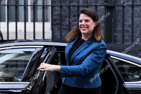 Caroline Nokes, Immigration Minister, arrives at No.10 Downing Street