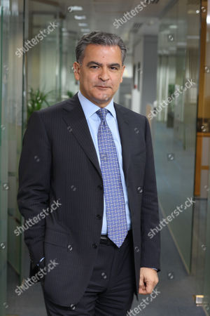 Editorial photo of Aram Shishmanian, CEO of the World Gold Council , London, Britain - 24 Apr 2009