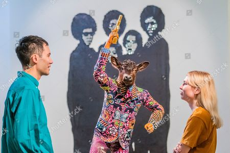 Revolution Kid (calf) by Yinka Shonibare and Woke by Sanford Biggers - Get Up, Stand Up Now: Generations of Black Creative Pioneers - a new exhibition at Somerset House celebrating the past 50 years of Black creativity in Britain and beyond. Curated by Zak Ove, it runs 12 June 15 September 2019.