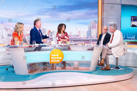 Charlotte Hawkins, Piers Morgan, Susanna Reid, Toby Young and Martin Bell