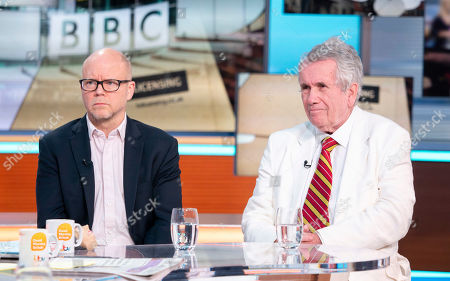Toby Young and Martin Bell