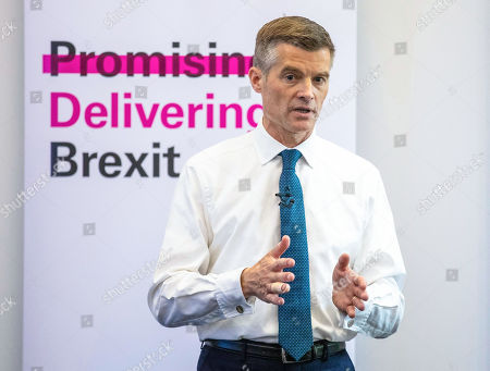 Mark Harper MP, who is running to be Leader of the Conservative Party and the next Prime Minister, speaks at the official launch event for his leadership campaign.