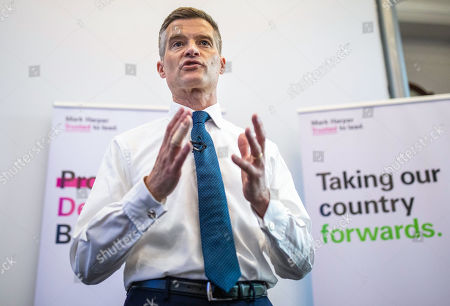 Mark Harper MP, who is running to be Leader of the Conservative Party and the next Prime Minister,speaks at the official launch event for his leadership campaign.