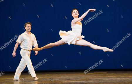 Stock Photo of Daphnis and Chloe Anna Rose O'Sullivan  Alexander Campbell