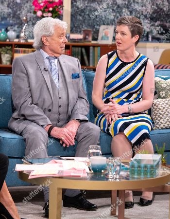 Lionel Blair and Angela Kitching