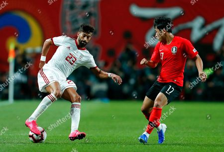 Editorial image of South Korea vs Iran, Seoul - 11 Jun 2019