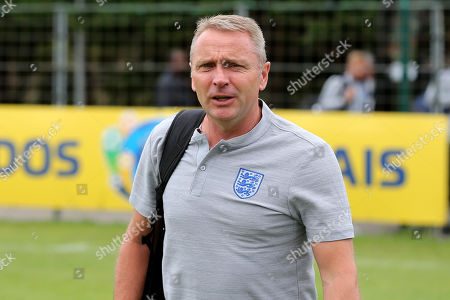 Stock Picture of England Manager, Paul Simpson, arrives at the ground during Guatemala Under-23 vs England Under-20, Tournoi Maurice Revello Football at Stade Marcel Cerdan on 11th June 2019