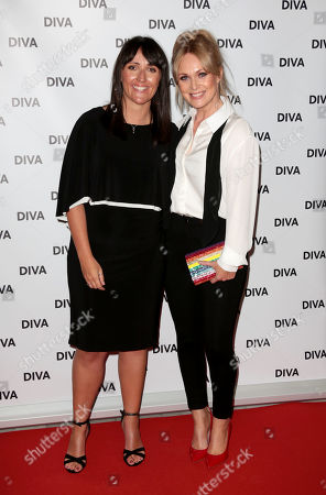Michelle Hardwick and Fiancee Kate Brooks