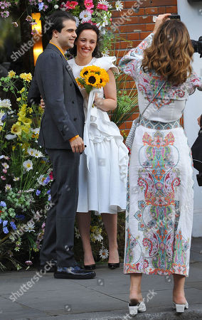 Editorial picture of Charles Saatchi attends daughters wedding, London, UK - 08 Jun 2019