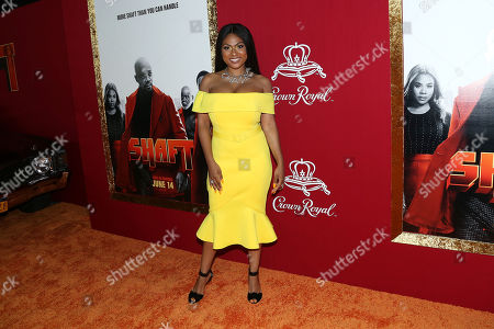 Editorial picture of 'Shaft' film premiere sponsored by Crown Royal, New York, USA - 10 Jun 2019
