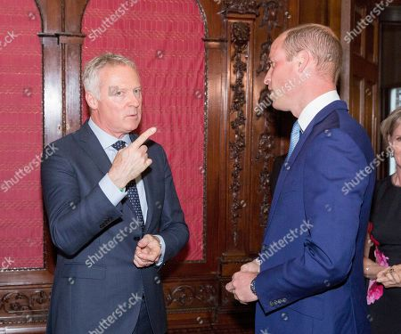 Prince William with Rory Bremner