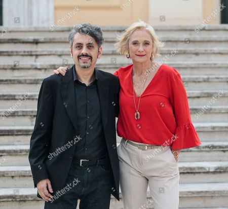 Massimo Coglitore, Caroline Goodall