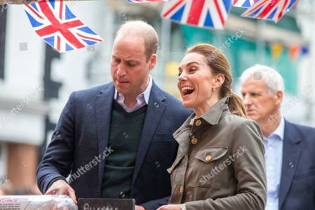 Prince William and Catherine Duchess of Cambridge visit to Keswick