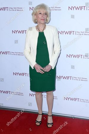 Stock Image of Lesley Stahl