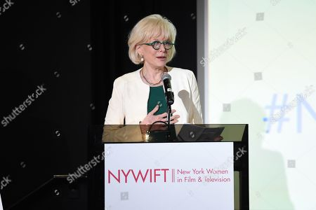 Editorial photo of New York Women in Film and Television 20th Anniversary Designing Women Awards, Inside, Directors Guild of America Theater, New York, USA - 11 Jun 2019