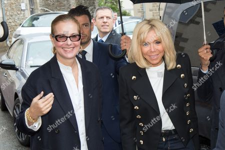 Carole Bouquet, Brigitte Trogneux