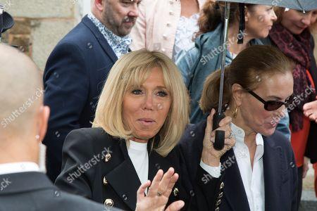 Brigitte Trogneux, Carole Bouquet