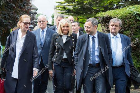 Editorial photo of First Lady visits hospital, Saint-Malo, France - 11 Jun 2019