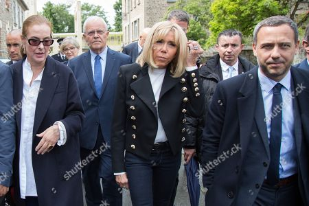 Editorial picture of First Lady visits hospital, Saint-Malo, France - 11 Jun 2019
