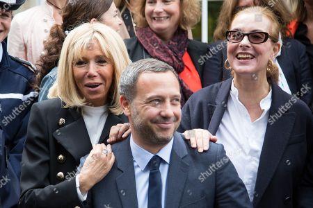 Brigitte Trogneux, Adrien Taquet, Carole Bouquet