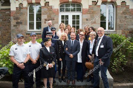 Editorial image of First Lady visits hospital, Saint-Malo, France - 11 Jun 2019