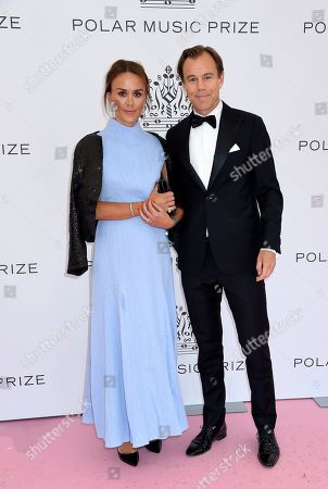 Karl Johan Persson and Leonie Persson