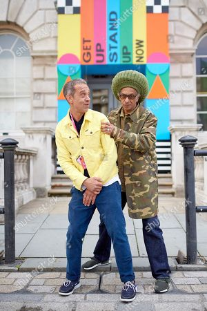 Zak Ove and Don Letts