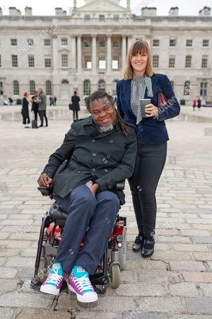 Yinka Shonibare and guest