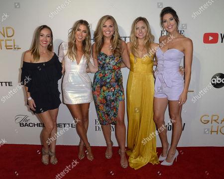 Ashley Hebert Rosenbaum, Kaitlyn Bristowe, Hannah Brown, Kendall Long and Becca Kufrin