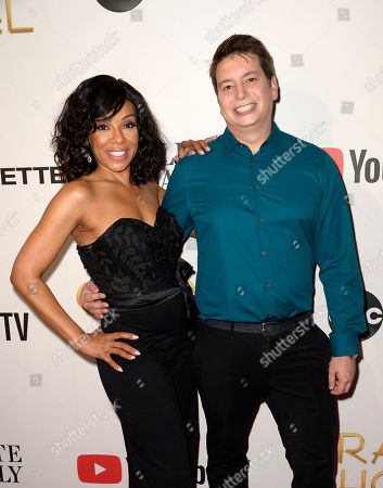 Stock Photo of Wendy Raquel Robinson and Brian Tanen