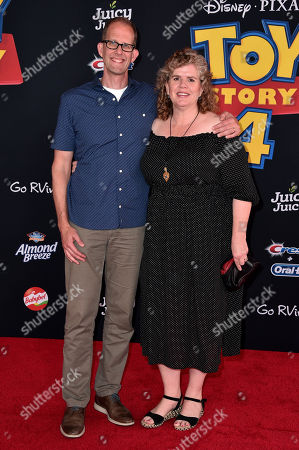 Pete Docter and Amanda Docter