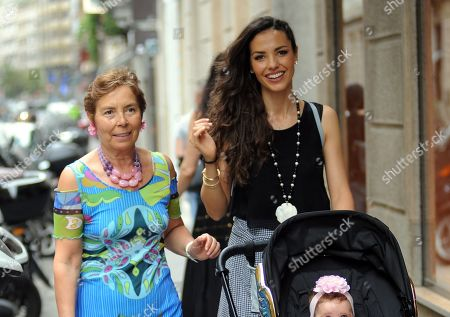 Editorial picture of Laura Barriales out and about, Milan, Italy - 11 Jun 2019