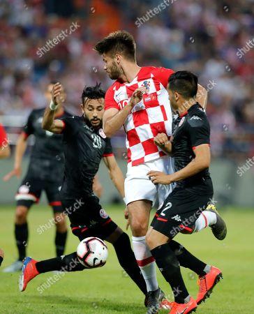 Editorial picture of Croatia vs Tunisia, Varazdin - 11 Jun 2019