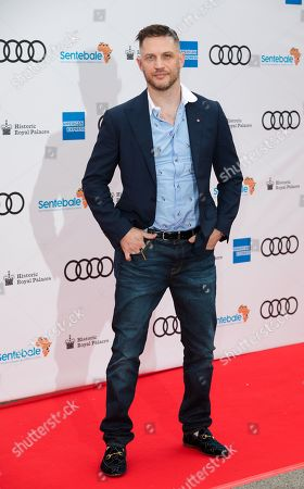 Tom Hardy poses on the red carpet during the Sentebale Audi Concert at Hampton Court Palace in London, Britain, 11 June 2019. The concert will raise awareness and funds for Sentebale, the charity founded by Prince Harry and Prince Seeiso, to support children and young people affected by HIV and AIDS in Lesotho, Botswana and Malawi; countries where HIV remains a leading cause of death.