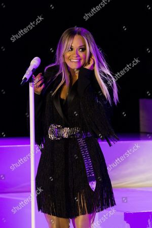 British singer Rita Ora performs at the Sentebale Audi Concert at Hampton Court Palace in London, Britain, 11 June 2019. The concert will raise awareness and funds for Sentebale, the charity founded by The Duke of Sussex and Prince Seeiso, to support children and young people affected by HIV and AIDS in Lesotho, Botswana and Malawi, countries where HIV remains a leading cause of death.